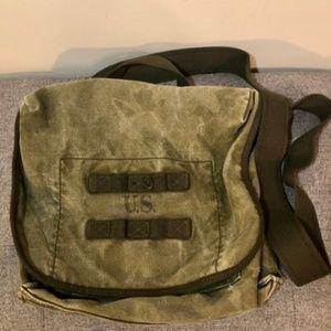 American Eagle Military Style Messenger Bag